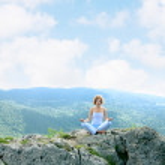 Woman meditating — Stock Photo #6265601