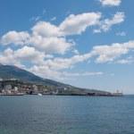 Yalta port — Stock Photo