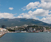 Yalta port — Stock Photo