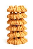 Pila di cookies — Foto Stock