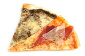 Slices of pizza — Stock fotografie