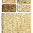 Samples of collection carpet - Stock Photo