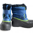 Stock Photo: Children winter boot