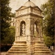Fountain of innocents in Paris, France — Stock Photo