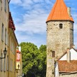 Fortress in Tallinn Old Town — Stock Photo