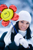 Winter fun — Stockfoto