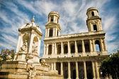 Saint Sulpice church, Paris, France — Foto de Stock