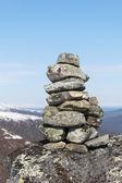 Cairn i bergen — Stockfoto