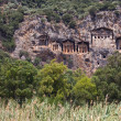 DalyTombs, Turkey — Stock Photo #6345265