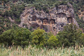 Dalyan Tombs, Turkey — Stock Photo