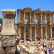 Celsus Library in Ephesus, Turkey — Stock Photo #6424050