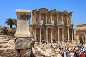 Celsus Library in Ephesus, Turkey — Foto Stock