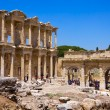 Celsus Library in Ephesus, Turkey — Stok fotoğraf