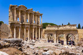 Celsus Library in Ephesus, Turkey — 图库照片