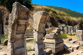 Ruins in Ephesus, Turkey — Stock Photo