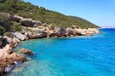 Aegean coast near Bodrum, Turkey — Stock Photo