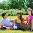 Family on picnic — Stock Photo #5876431