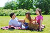 Family on picnic — Stock Photo