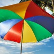Beach parasol — Stock Photo