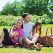 Family on picnic — Stock Photo #5897144