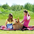 Photo: Family on picnic