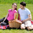 Royalty-Free Stock Photo: Couple on picnic