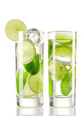 Mojito cocktails — Stock Photo