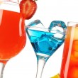 Stock Photo: Tropical cocktails close-up
