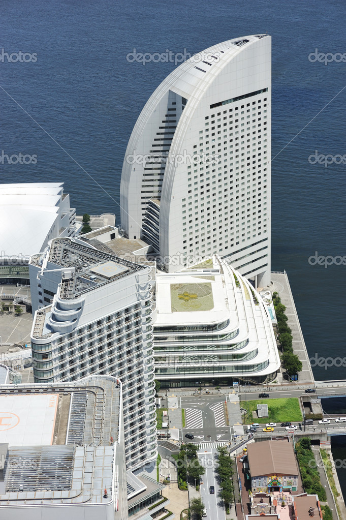 Yokohama Cityscape. No brand names or copyright objects.  Stock Photo #6639558