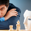 FIDE Grand Master Vugar Gashimov (World Rank - 12) from Azerbaij — Stock Photo #5413293