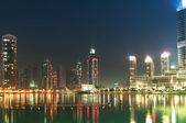 Down town of Dubai city — Stock Photo
