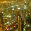 Stock Photo: Panoramof down town Dubai city - UAE