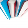 Stack of books isolated on the white background — Stock Photo