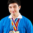 FIDE Grand Master Vugar Gashimov (World Rank - 12) from Azerbaij — Stock Photo #5594322