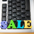 Royalty-Free Stock Photo: SALE word on the keyboard
