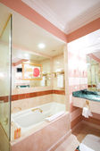 Interior of the room - Sink in the bathroom — Stock Photo