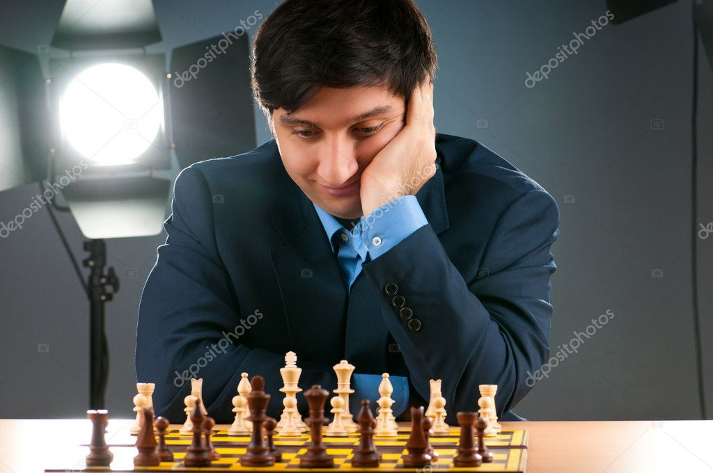 FIDE Grand Master Vugar Gashimov (World Rank - 12) from Azerbaijan — Stock Photo #5593768
