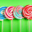 Royalty-Free Stock Photo: Colorful lollipop against the background