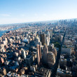 New York city panorama with tall skyscrapers — Stock Photo #5610236