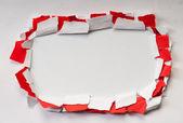 куски бумаги с пространством для вашего сообщения — Стоковое фото