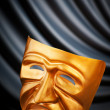 Masks with theatre concept — Stock Photo #5983894