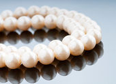 Pearl necklace in fashion and beauty concept — Stock Photo
