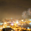 Fireworks in Baku, Azerbaijan — Stock Photo #6016804