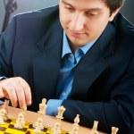 FIDE Grand Master Vugar Gashimov (World Rank - 12) from Azerbaij — Stock Photo