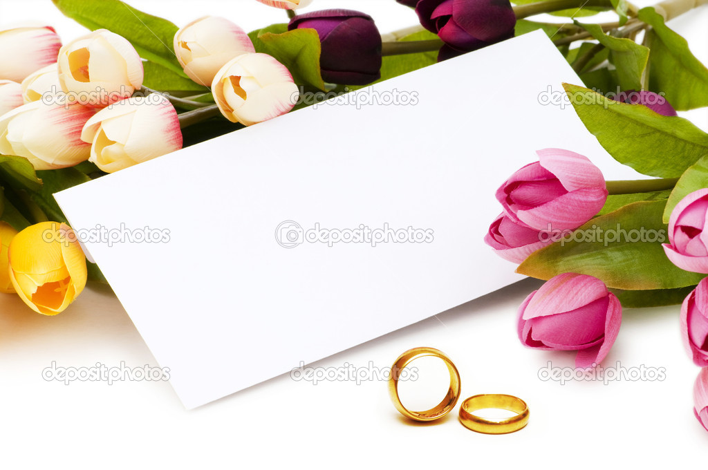 Wedding concept with roses and rings — Stock Photo #6084440