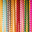Royalty-Free Stock Photo: Abstract with colourful pearl necklaces