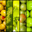 Collage of many fruits and vegetables — Stock Photo #6272812