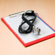 Medical concept with stethoscope — Stock Photo #6273742