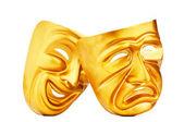 Maskers met het theater concept — Stockfoto
