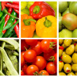 Royalty-Free Stock Photo: Collage of many fruits and vegetables